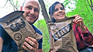 Download Testing US Military MRE with Katherine Video