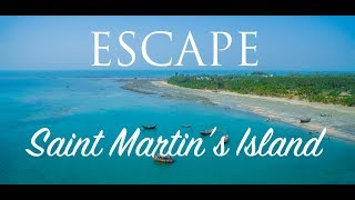 Download Saint Martins Island, Bangladesh [HD] [ Aerial Compilation ] Video