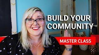 Download Building a community | Master Class ft Meghan Tonjes Video