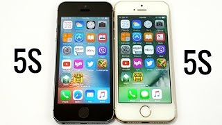 Download iPhone 5S iOS 9.3.5 vs iPhone 5S iOS 10.1.1 Video