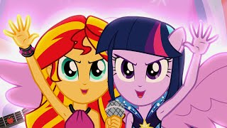 Download Welcome To The Show Song - MLP: Equestria Girls - Rainbow Rocks! Video