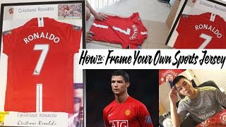 Download How to Frame Your Own Sports Jersey-The Cheap Way! Video