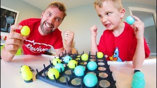 Download Father & Son PLAY BOUNCE OFF! / The Trick Shot Game! Video