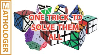 Download A simple trick to design your own solutions for Rubik's cubes Video