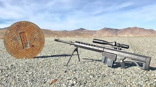 Download Are Sewer Lids BulletProof? - heavy sniper rifle 50cal Video