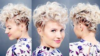 Download Creative Short Hairstyle: Retro Faux Hawk | Milabu Video