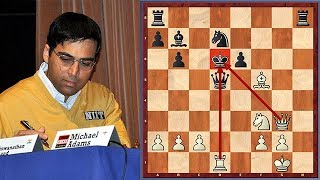 Download Anand's ″Morphy-style″ Crushing Attack Video
