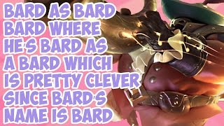 Download Bard as Bard Bard Where He's Bard as a Bard Which is Pretty Clever Since Bard's Name is Bard Video