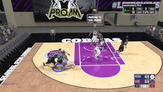 Download FRANTIC DEFENSE WITH THE CLOCK TICKING DOWN! NBA 2K17 Pro Am Gameplay Video