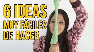 Download 6 Ideas fáciles para niños - Juegos y Experimentos (RECOPILACIÓN) Video