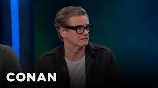 Download Colin Firth Tried On Elton John's Clothes - CONAN on TBS Video