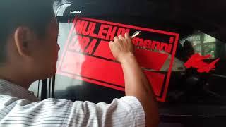 Download HITUNGAN MENIT!! CUTING STIKER MANUAL PALING MANTAP DI DUNIA Video