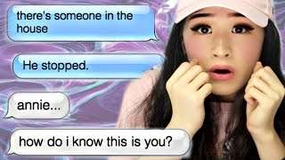 Download The Creepiest Text Ever | annie96 is typing... Video