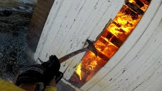 Download Rolling Hills barn fire Video