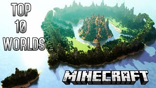 Download Top 10 CRAZIEST Minecraft Worlds of ALL TIME Video