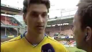 Download Zlatan Ibrahimovic irriterad på Peter Jihde Video
