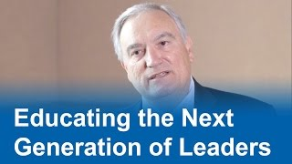 Download Educating the Next Generation of Leaders Video