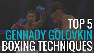 Download Top 5 Gennady Golovkin Boxing Techniques Video