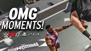 Download WWE 2K17 - All OMG MOMENTS! PS4 & XBOX ONE Video