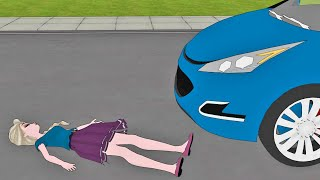 Download Elsa HIT by a Car ! Rachel & Jack BREAK-UP ! Frozen High School Parody Video