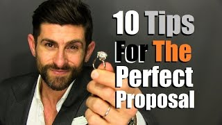 Download 10 Tips For The Perfect Proposal | How To Pop The Question In Style Video