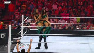 Download Raw: No. 1 Contender's Diva Battle Royal Video