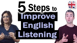 Download 5 Steps to Improve Your English Listening - How to Improve Your English Listening Video