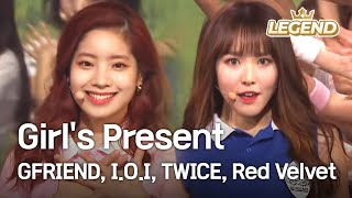 Download Girl's Present (GFRIEND,I.O.I,TWICE,Red Velvet) [2016 KBS Song Festival / 2017.01.01] Video