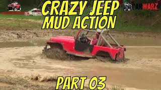 Download CRAZY JEEP MUDDING ACTION BEST OF PART 03 Video