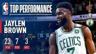 Download Jaylen Brown Leads Celtics To A 2-0 Series Lead vs The Cavaliers Video