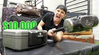 Download $10,000 OF LOST AIRPORT LUGGAGE!! (Buying $10,000 Lost Luggage Mystery Auction) Video