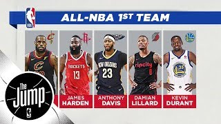 Download 2018 All-NBA teams announced: Do you agree with Damian Lillard making first team?   The Jump   ESPN Video