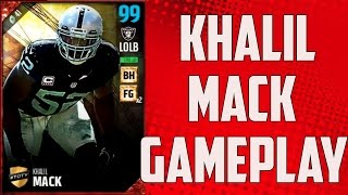 Download Testing TOTY 99 Overall Khalil Mack - Madden 17 Ultimate Team Video