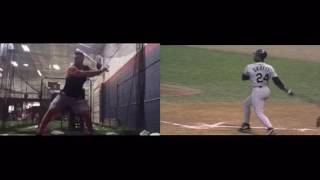 Download Tim Tebow's Baseball Swing vs Ken Griffey Jr Video