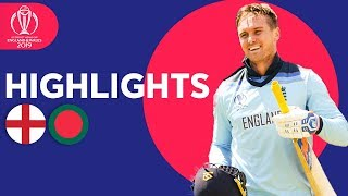 Download Roy Hits 153 In Big Score | England v Bangladesh - Match Highlights | ICC Cricket World Cup 2019 Video