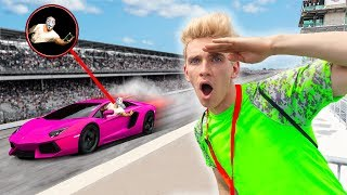 Download UNDERCOVER Race Car Mission to Recover Top Secret Code!! (Stop Sharerghini From Mystery Hackers) Video