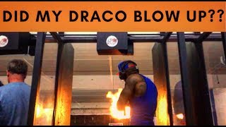 Download kount Draco vlog: Micro Draco scares a family out the gun range!!! Video