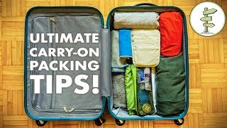 Download Minimalist Packing Tips & Hacks - Travel Light With Only Carry-On Luggage! Video