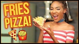 Download FRIES BEFORE GUYS PIZZA?! Slice Slice Baby w/ Kellie Sweet Video
