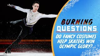 Download Do fancy costumes help Skaters win Olympic Glory? | Burning Questions Video