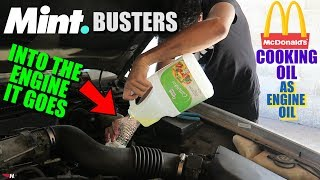 Download Can You Use Cooking Oil As Engine Oil? Video