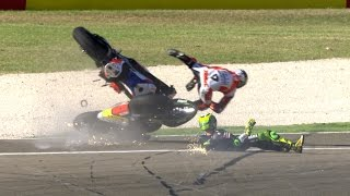 Download Most spectacular crashes and wobbles of the year Video