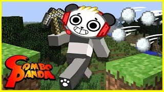 Download MINECRAFT EPIC SNOWBALL FIGHT BATTLE Mini game!!! Let's Play with Combo Panda Video