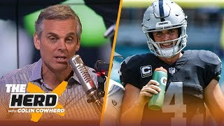 Download Colin Cowherd: Jon Gruden should be 'very careful' about trading Derek Carr | NFL | THE HERD Video