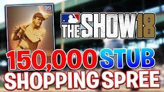 Download 150,000 STUB SPENDING SPREE! MLB The Show 18 | Diamond Dynasty Gameplay Video