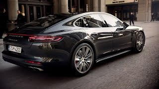 Download The new Panamera Turbo and Panamera 4S in motion. Video