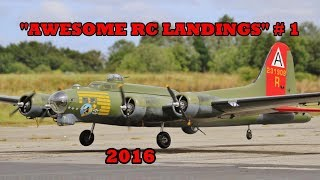 Download ″AWESOME RC LANDINGS″ - WW2 BOMBERS & TRANSPORT ETC # 1 - 2016 Video