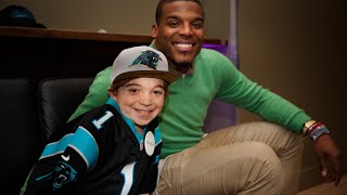 Download Lokai: Watch Noah's wish to meet NFL MVP Cam Newton come true Video