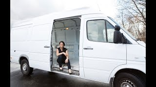 Download Woman Quits Expensive Rents To Live In A Van Video