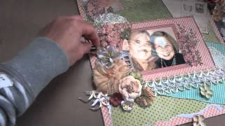 Download ″Once in a Lifetime″ 12x12 Scrapbook Layout & Tutorial Video